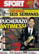 Portada diario Sport del 21 de Noviembre de 2013