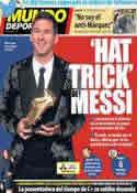 Portada Mundo Deportivo del 21 de Noviembre de 2013