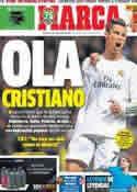 Portada diario Marca del 22 de Noviembre de 2013