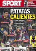 Portada diario Sport del 22 de Noviembre de 2013
