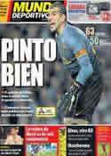 Portada Mundo Deportivo del 22 de Noviembre de 2013