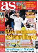 Portada diario AS del 23 de Noviembre de 2013