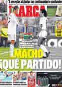 Portada diario Marca del 23 de Noviembre de 2013