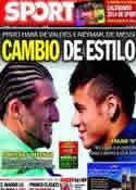 Portada diario Sport del 23 de Noviembre de 2013
