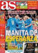 Portada diario AS del 24 de Noviembre de 2013