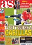 Portada diario AS del 26 de Noviembre de 2013