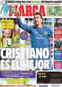 Portada diario Marca del 26 de Noviembre de 2013