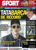 Portada diario Sport del 26 de Noviembre de 2013