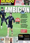 Portada Mundo Deportivo del 26 de Noviembre de 2013