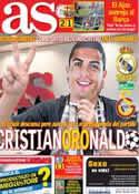 Portada diario AS del 27 de Noviembre de 2013