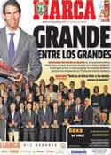 Portada diario Marca del 27 de Noviembre de 2013