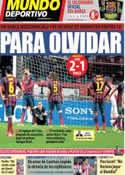 Portada Mundo Deportivo del 27 de Noviembre de 2013