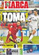 Portada diario Marca del 28 de Noviembre de 2013