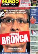 Portada Mundo Deportivo del 28 de Noviembre de 2013