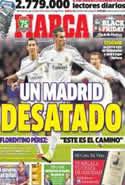 Portada diario Marca del 29 de Noviembre de 2013