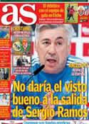 Portada diario AS del 30 de Noviembre de 2013