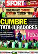 Portada diario Sport del 30 de Noviembre de 2013