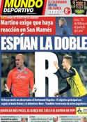 Portada Mundo Deportivo del 30 de Noviembre de 2013
