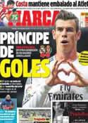 Portada diario Marca del 1 de Diciembre de 2013