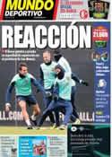 Portada Mundo Deportivo del 1 de Diciembre de 2013