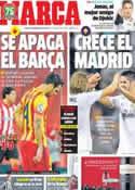 Portada diario Marca del 2 de Diciembre de 2013