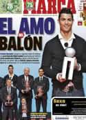Portada diario Marca del 3 de Diciembre de 2013