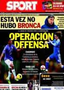 Portada diario Sport del 3 de Diciembre de 2013