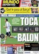 Portada Mundo Deportivo del 3 de Diciembre de 2013