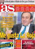 Portada diario AS del 4 de Diciembre de 2013