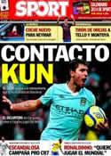 Portada diario Sport del 4 de Diciembre de 2013