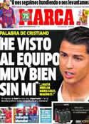 Portada diario Marca del 5 de Diciembre de 2013