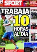Portada diario Sport del 5 de Diciembre de 2013
