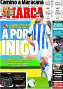 Portada diario Marca del 6 de Diciembre de 2013