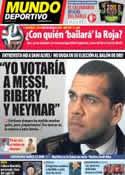 Portada Mundo Deportivo del 6 de Diciembre de 2013