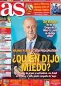 Portada diario AS del 7 de Diciembre de 2013