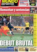Portada Mundo Deportivo del 7 de Diciembre de 2013