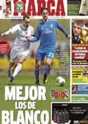Portada diario Marca del 8 de Diciembre de 2013