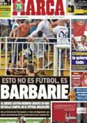Portada diario Marca del 9 de Diciembre de 2013