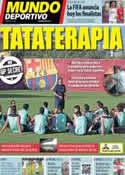 Portada Mundo Deportivo del 9 de Diciembre de 2013