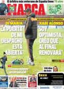 Portada diario Marca del 10 de Diciembre de 2013