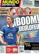 Portada Mundo Deportivo del 10 de Diciembre de 2013