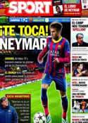 Portada diario Sport del 11 de Diciembre de 2013