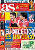 Portada diario AS del 12 de Diciembre de 2013