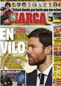 Portada diario Marca del 12 de Diciembre de 2013