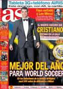 Portada diario AS del 13 de Diciembre de 2013