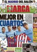 Portada diario Marca del 13 de Diciembre de 2013