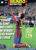 Portada Mundo Deportivo del 13 de Diciembre de 2013
