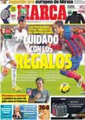 Portada diario Marca del 14 de Diciembre de 2013