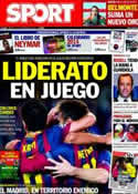 Portada diario Sport del 14 de Diciembre de 2013