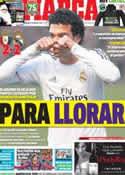 Portada diario Marca del 15 de Diciembre de 2013